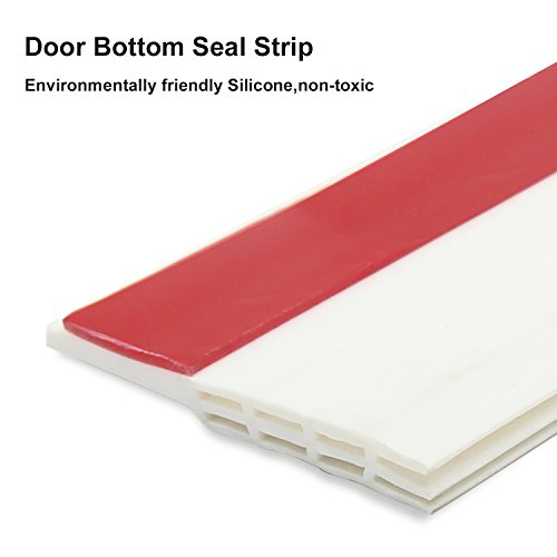 Under Door Sweep Weather Stripping Door Bottom Seal Strip
