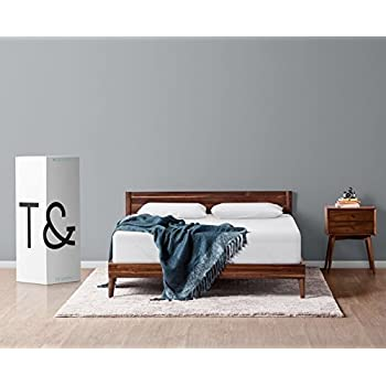 Tuft & Needle California King Mattress with T&N Adaptive Foam, Sleeps Cooler & More Supportive Than Memory Foam, Certi-PUR & Oeko-Tex 100 Certified, 10-Year True Warranty, Made in USA, Rated CR's Best Buy Mattress