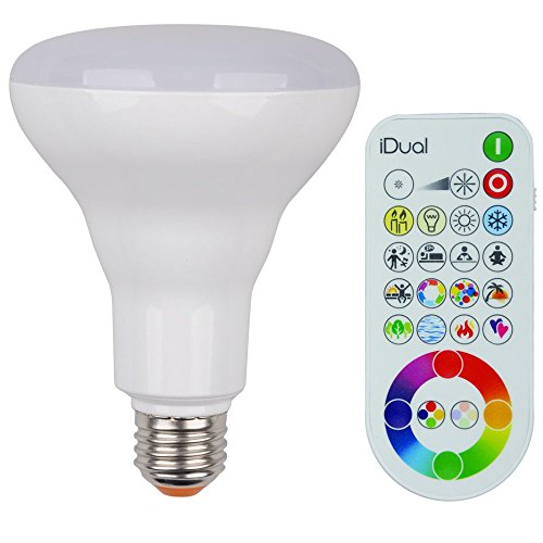 iDual BR30 E26 LED Smart Lightbulb & Remote Control Starter Pack Review