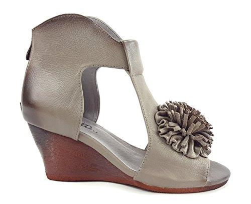 De Gris Vestir Grey Sandalias Para Mujer Laura Vita Grau Gris pZ0WnE