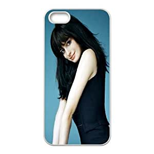 iPhone 5 5s Cell Phone Case White Charming Anne Hathaway Yfygq
