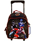 Power Rangers Rolling Backpack – Kid Size Power Rangers Wheeled Backpack, Bags Central