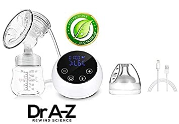 Electric Breast Pump Milk Extractor Automatic Massage USB Double Breastfeeding
