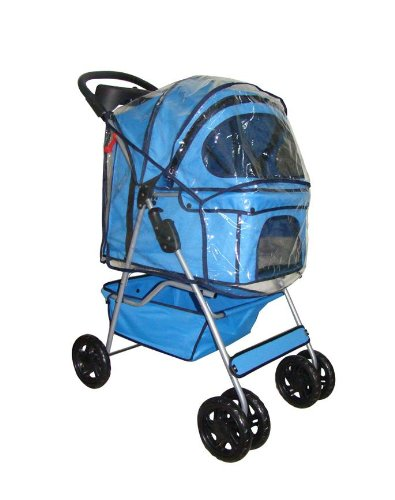 Classic 4 Wheel Pet Stroller by BestPet For Sale