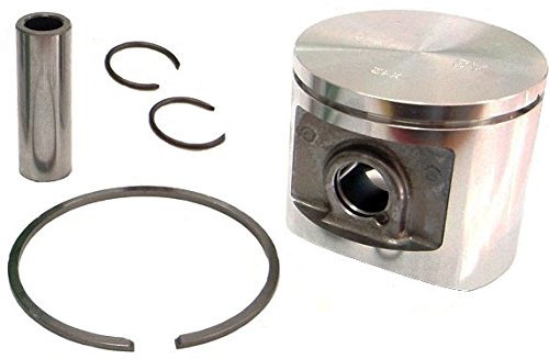 Meteor Piston Assembly (50mm) for Husqvarna 371, 372, Jonsered 2071, - Oem Piston Assembly