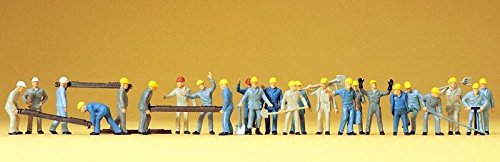 14403 Railroad Personnel Track Workers HO Scale Figure