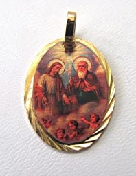 Blessed By Pope Benedetto XVI Holy Trinity Medal