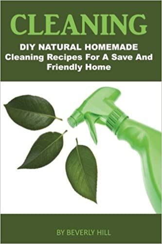 DIY Natural Homemade Cleaning Recipes for a Safe and Friendly Home Cleaning