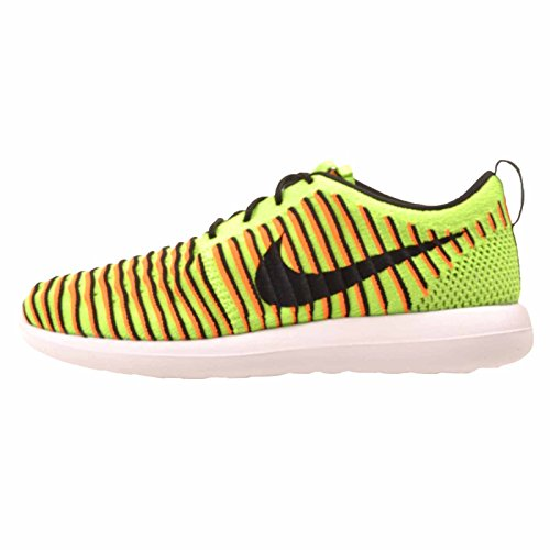 Verde Shoes Orange Electric Roshe total Verde NIKE white Flyknit s Green Men Two Gs Black Running 6v0q8