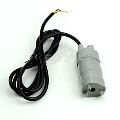 Mini Water Pump, Northbear 12V DC 1.2A Micro Submersible Motor Water Pump 5M 14L/Min 840L/H 6-15V