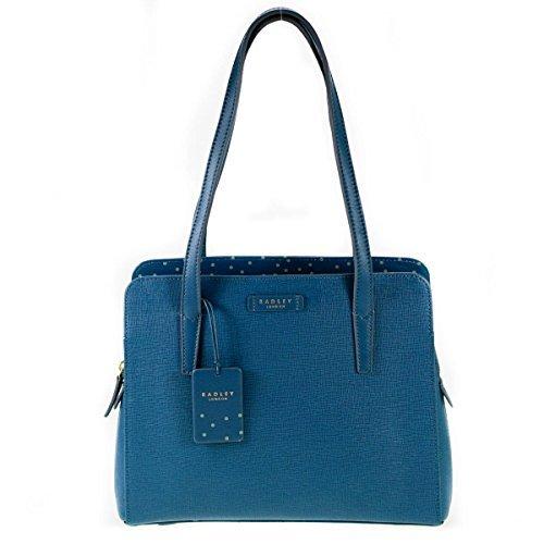 Blue Ebury Shoulder Ebury Grab Leather Radley Blue Shoulder Leather Bag Grab Radley yvq1wBgOp