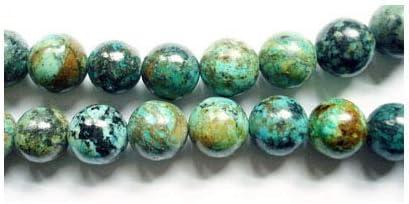 Verde Teal Redondo Perlas De Vidrio Esmerilado Color-Tamaño 4mm.