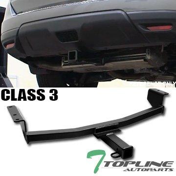 TOPLINE Autopartクラス3 IIIマットブラック2」リアバンパー牽引トレーラーヒッチ牽引用マウントレシーバーチューブ08 – 17 Nissan Rogue B078KVK5DZ
