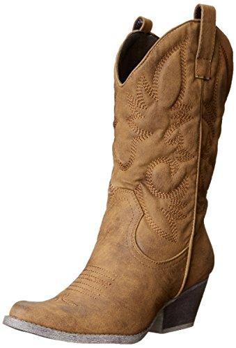 Rbls Women's Valley Boot, Tan, 5.5 M US