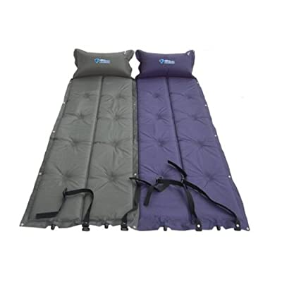 BLUEFIELD Thick Automatic AirMattresses/Moistureproof Mat Thickness (Color Random)