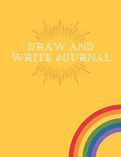 """Draw And Write Journal: Lined Paper Journals Books for Kids, Writing and Drawing Notebook-Large 8.5"""" x 11""""-100 Pages (Volume 2)"""