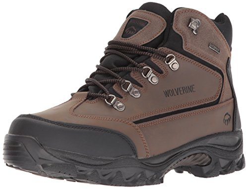- Wolverine Men's Spencer Hiking Boot,Brown/Black,9.5 EW