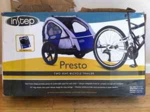 Instep Presto 2 Seat Bike Trailer Child Carrier