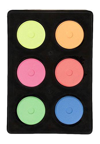 (Jack Richeson Mini Tempera Fluorescent 6 Color Set)