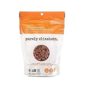 Purely Elizabeth Gluten Free Ancient Grain Granola, Pumpkin Cinnamon, 12 Ounce