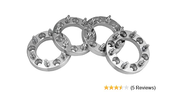 Amazon.com: 4 Chevy Silverado 1500 Wheel Spacers Adapters 1 inch thick fits ALL Chevrolet Silverado 1500 Model Trucks: Automotive