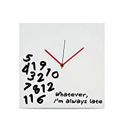 Kovot I'm Always Late Wall Clock - 12 x 12