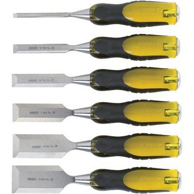 076174169713 - Stanley 16-971 6-Piece FatMax Short Blade Chisel Set carousel main 0