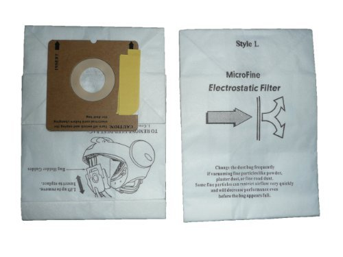 EnviroCare Replacement Micro Filtration Vacuum Bags for Eureka Style L 930, 965 Series 6 Pack