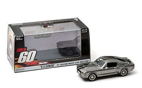 1967 Ford Shelby Mustang GT500 ''Eleanor'' ''Gone in Sixty Seconds'' Movie (2000) 1/43 by Greenlight 86411