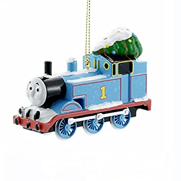 Image Unavailable - Amazon.com: Thomas The Tank Engine With Tree Blue Train Christmas