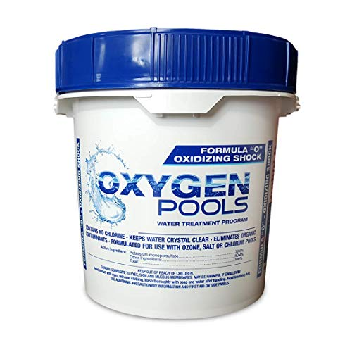 Oxygen Pools Formula O Chlorine Free Pool Water Treatment - 10lb Pail