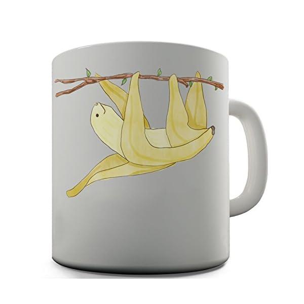 Banana Sloth Cute Design Novelty Gift Tea Coffee Office Mug -