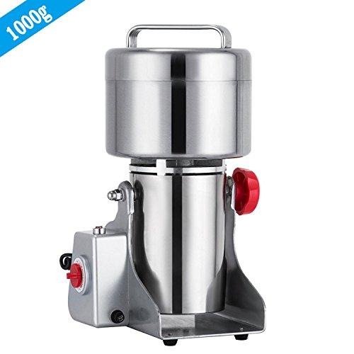 Mophorn Grain Grinder Electric Mill Powder Machine 25000RPM Mill Grinder Electric 2500W Grain Grinder Machine 50-300 Mesh (500G)