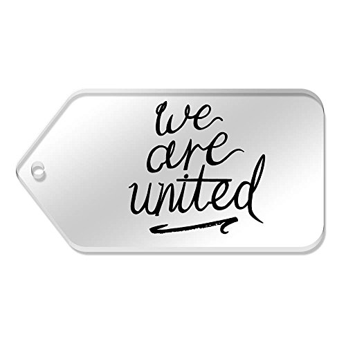 99 Mm Are 'We United' Grande 51 X tg00062320 De 10 Etiquetas Claras w6ZCU