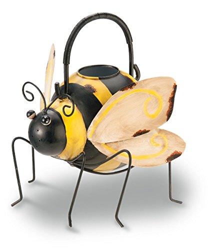 Bee Antiqued/Rustic Metal Watering Can - 8