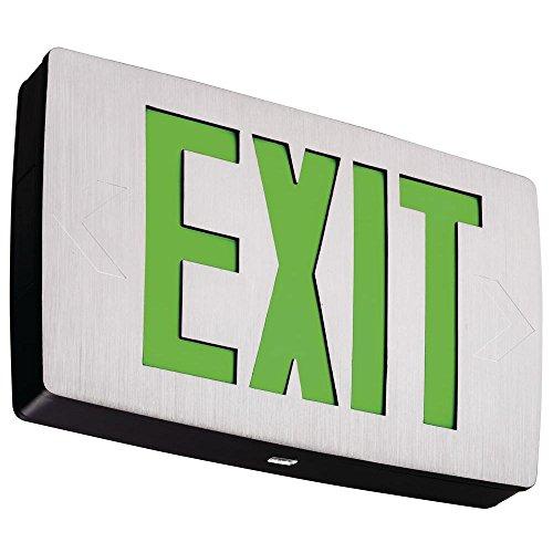 (Lithonia Lighting LQC 2 G 3W LED Exit Sign, White)