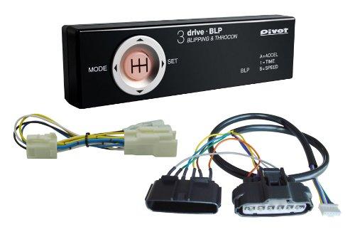 PIVOT ( ピボット ) 多機能スロコン  3-drive BLP【ブリッピング機能付】(MT車用) 専用ハーネス3点セット【BLP / TH-7A / BR-2】BLP-7A-2 B00BSK7I92