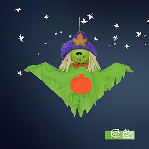 Damjic Halloween Decorations Large Cute Scarecrow Pendant Kindergarten Ktv Bar Scene Layout 7050CM C - Scary Bearded Halloween Costumes