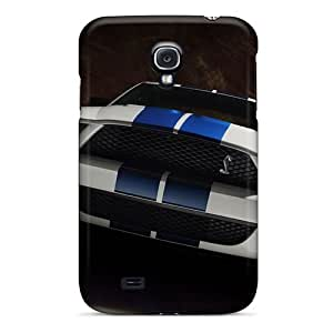 CloudTown Galaxy S4 Well-designed Hard Case Cover Ford Cobra Mustang Protector