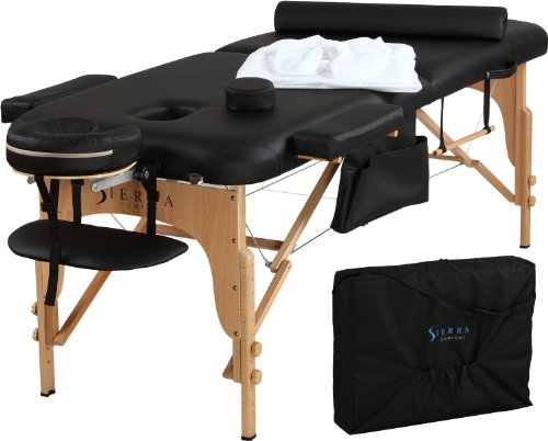 Sierra Comfort All-Inclusive Portable Massage Table by SierraComfort