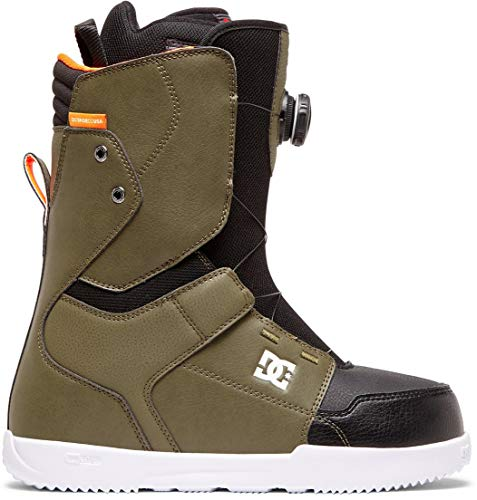 DC Scout BOA Snowboard Boots Mens Sz 10 Olive Night