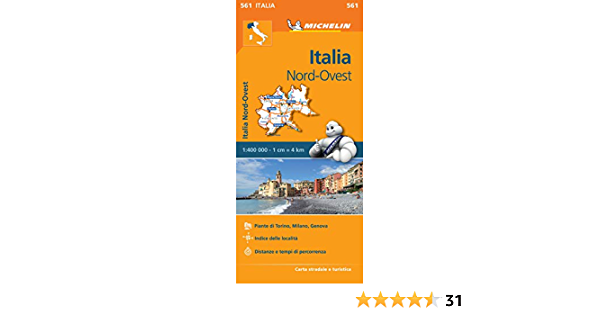 Cartina Michelin Italia.Mapa Regional Italia Nord Ovest Italian Edition Michelin 9782067183933 Amazon Com Books