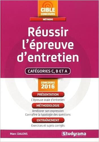 Livre gratuits en ligne L'épreuve d'entretien epub, pdf