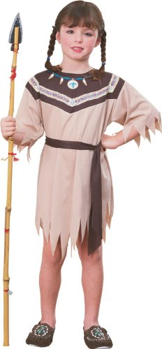 Haunted House Child's Native American Princess Costume, Large ()