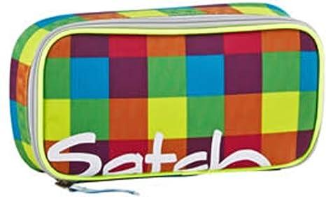 82dc12c42e27a Satch by Ergobag sac à dos d école cartable lot de 3 pièces Beach Leach 2.0  - pixellisé multicolore  Amazon.de  Koffer