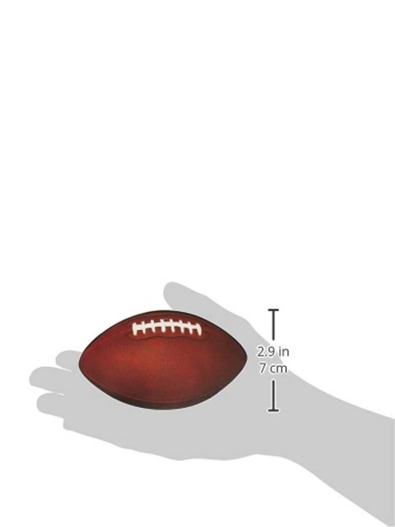 Amazon.com: Beistle 57079 10-Pack Miniature Football Cutouts for Parties, 4-1/2-Inch: Childrens Party Decorations: Kitchen & Dining