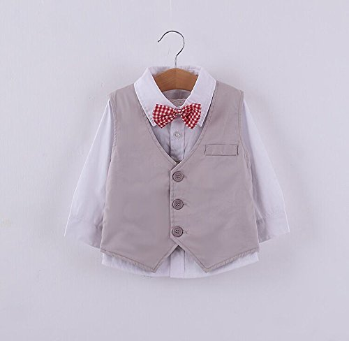 stylesilove Baby Kid Boy Formal Wear Shirt, Vest and Pants 3-pc (100/2-3 Years) by stylesilove (Image #3)
