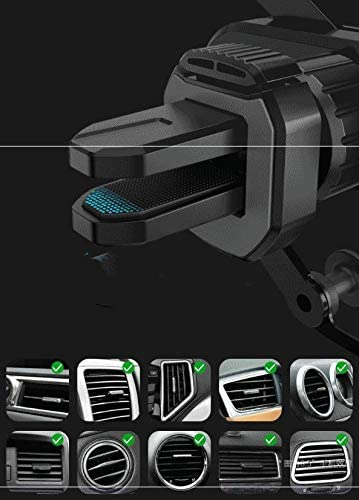 Gravity Car Phone Mount Car Phone Holder,Auto-Retractable Bracket for Car Air Vent Stable Car Cradle 360 /° Adjustable Car Phone Holder for 4.0-6.5 inchs Phone Stands