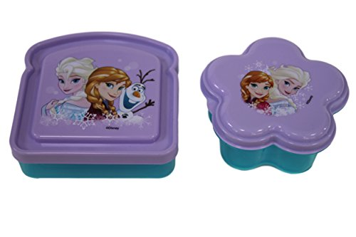 Disney Frozen Elsa 2 Piece ZAK Designs Lunch Box Kit