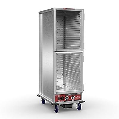 """Winholt NHPL-1833-ECOC-2D Heater Proofer, Dutch Door, 20-1/2"""" Width, 32-1/3"""" Length, 66-1/2"""" Height, Aluminum"""